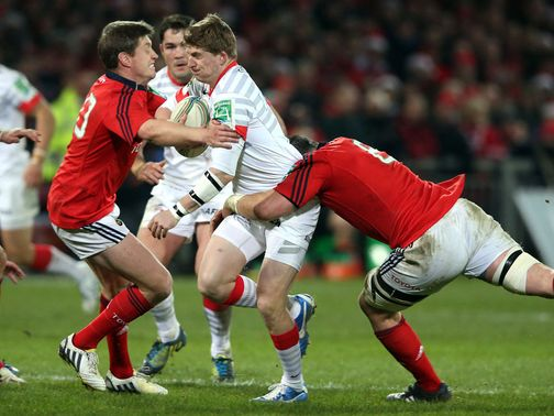 O&#39;Gara (left): Five from five kicks against Sarries