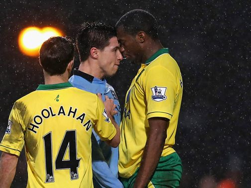Samir Nasri: Shown a red card against Norwich