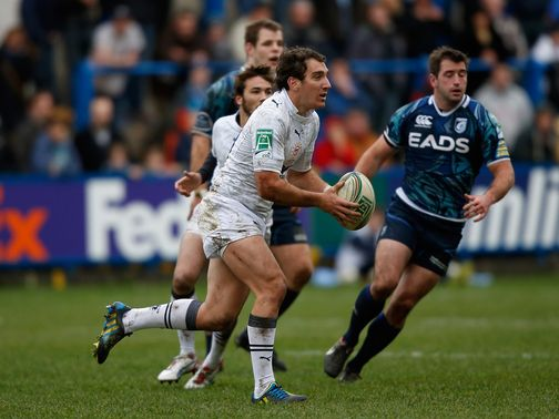 Santiago Fernandez leads a Montpellier attack