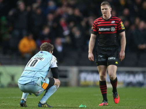 Disappointment for Myler after his late penalty falls just short