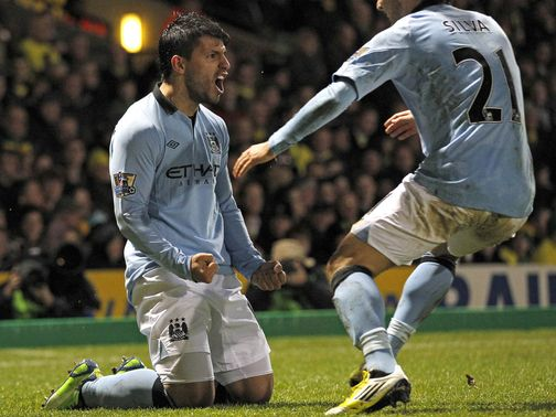 Sergio Aguero: Backed to stay at Manchester City