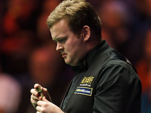 Shaun Murphy: Put out teenage sensation Luca Brecel
