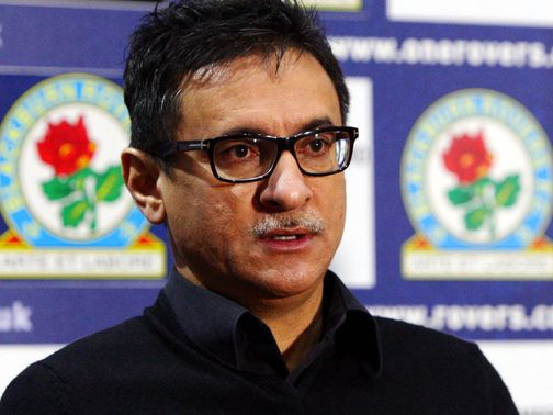 Shebby Singh: Leading the hunt for Rovers' new manager