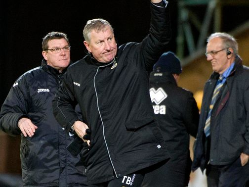 Terry Butcher's Inverness are flying high at present
