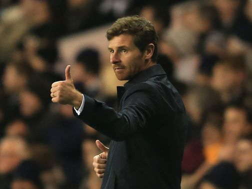 Andre Villas-Boas watched his side go through