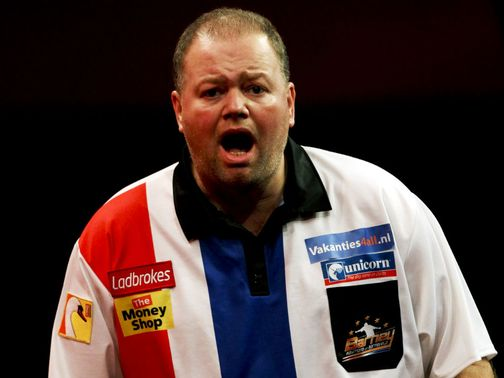 Raymond van Barneveld: Gets the nod against Whitlock