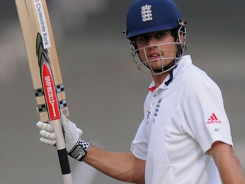 Alastair Cook: Keeping his focus