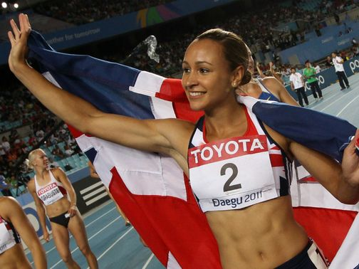 Jessica Ennis: proving popular with punters