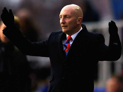 Holloway: Unhappy with the referee