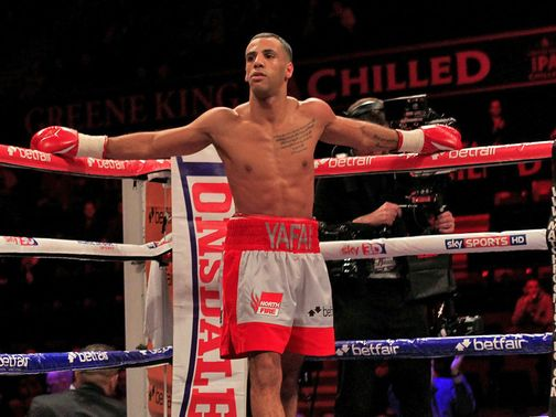Kal Yafai: Aiming for title fights next year (Pic Lawrence Lustig)