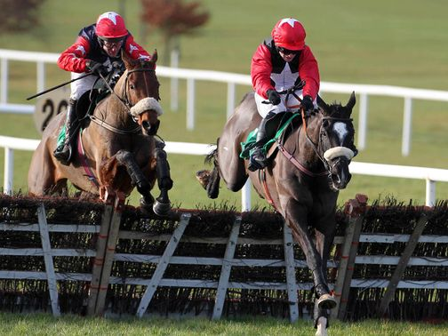 Owega Star: On his way to victory at Navan
