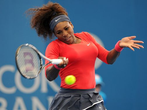 Serena Williams: Firm favourite for the Australian Open