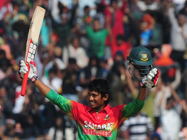 Anamul Haque: Celebrates his magnificent century