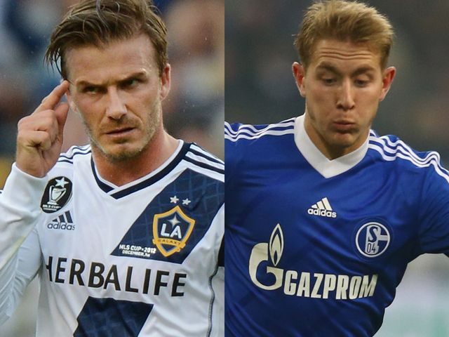 David Beckham & Lewis Holtby: On the move