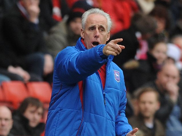 McCarthy: Watched his side win at Charlton