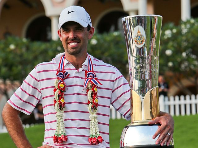Schwartzel: Cruised to victory in Thailand