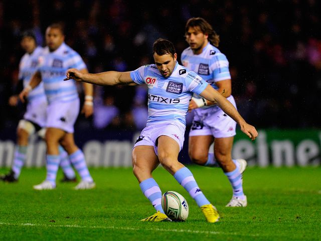 Olly Barkley in action for Racing Metro