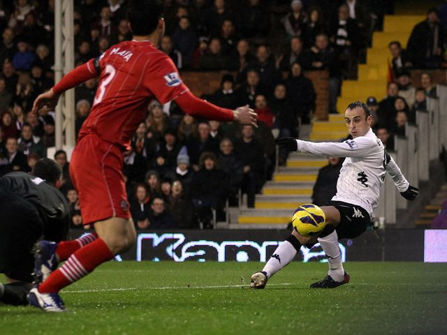 Dimitar Berbatov scored the opening goal for Fulham