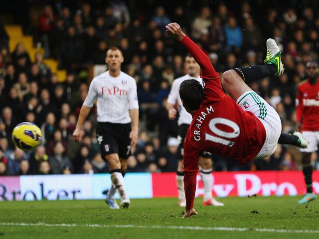 Danny Graham breaks the deadlock