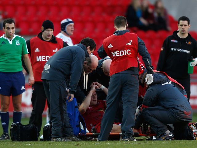Concern for Rhys Priestland after his injury