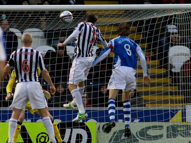 Murray Davidson scores for St Johnstone