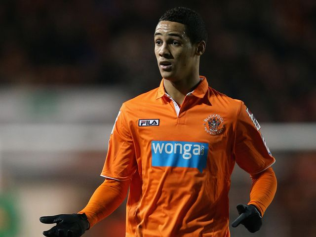 Thomas Ince pictured on Friday night