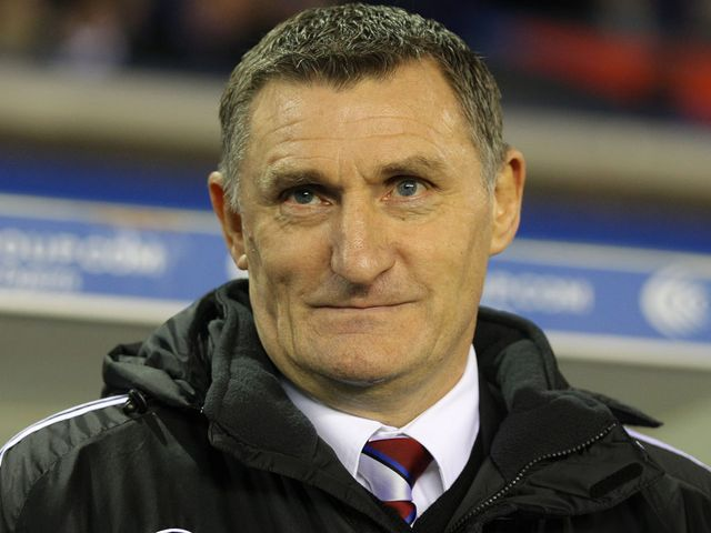 Tony Mowbray: Saw his side beat Blackpool 4-2.