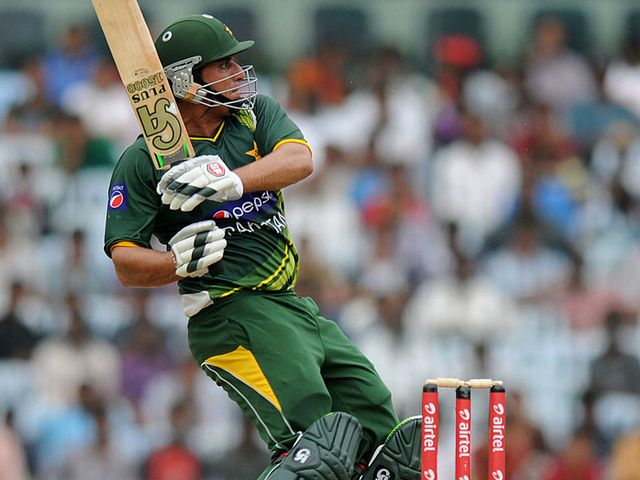 Nasir Jamshed: Helped Pakistan to victory