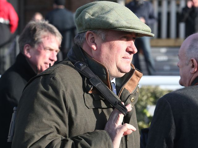 Paul Nicholls: Trainer of Saphir Du Rheu