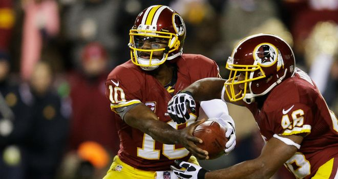 RGIII and Alfred Morris ran over Dallas Cowboys