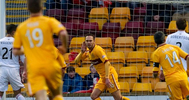 Tom Hateley: Opened the scoring for Motherwell