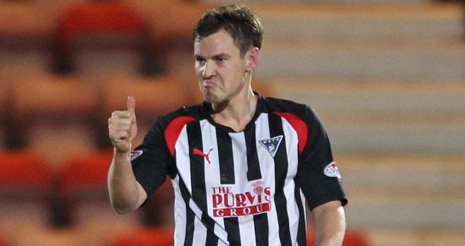 Andy Barrowman: Scored Dunfermline's winner
