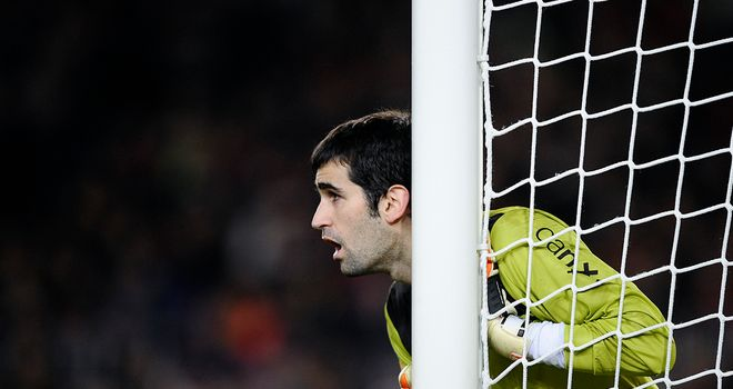 Asier Riesgo: The busier of the two goalkeepers