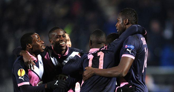 Cheick Diabate earned a point for Bordeaux