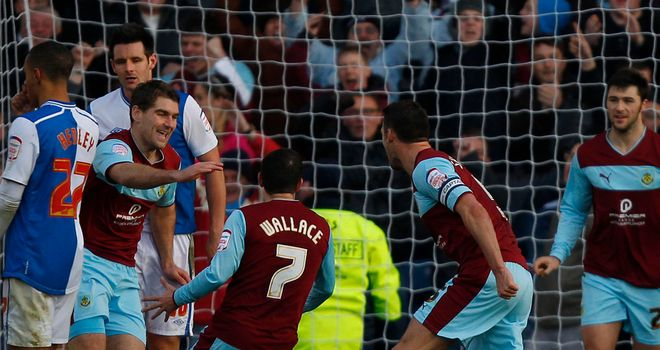 Sam Vokes: Celebrates his equaliser