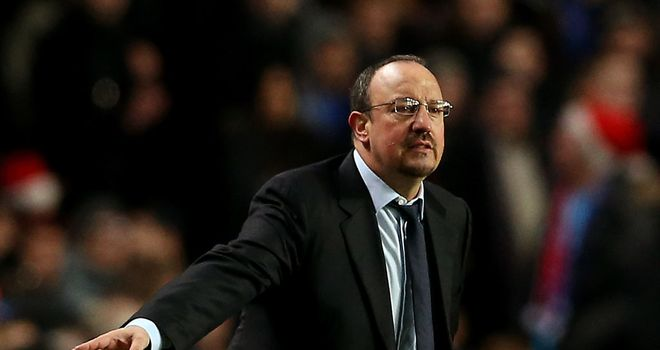 Rafa Benitez: Determined to get back into the title race as quickly as possible