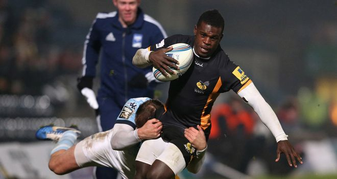 Christian Wade: Back in the starting line-up for Wasps