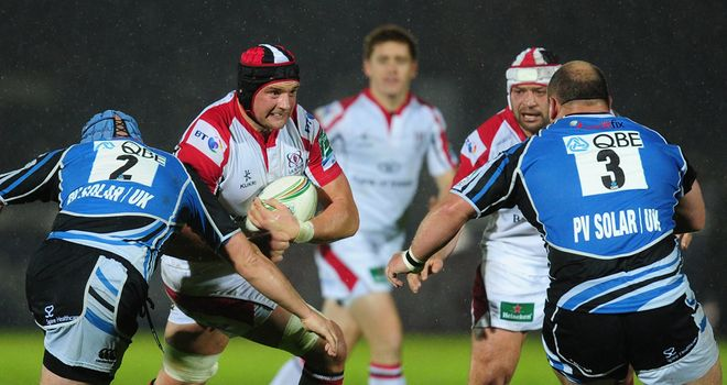 Ulster's home clash with Glasgow will be the first of 11 Heineken Cup round five games shown live on Sky Sports