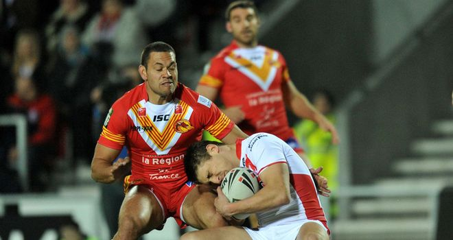 Daryl Millard returns to the Catalans side after an injury lay-off
