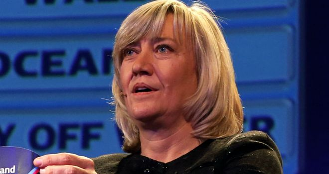 Debbie Jevans: Has restructured England Rugby 2015 after World Cup draw