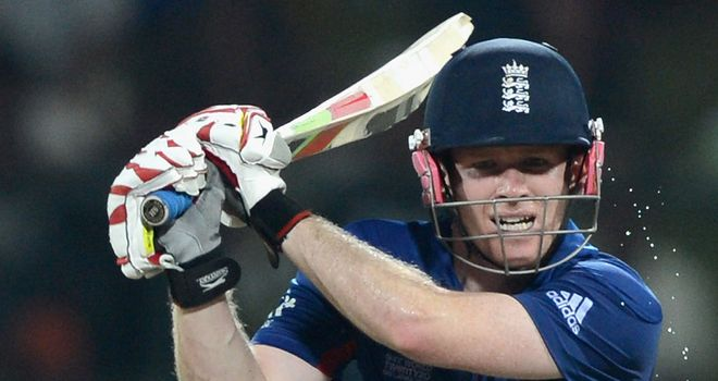 Eoin Morgan: admitted England didn't make enough runs in the first Twenty20 International