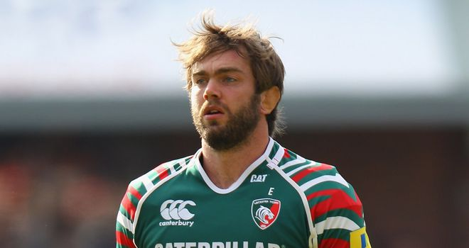 Geoff Parling: Returning to action for Leicester Tigers