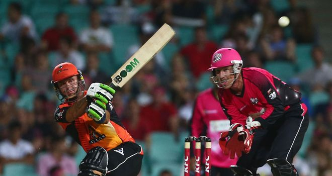 Herschelle Gibbs: Led the Perth chase with a knock of 40