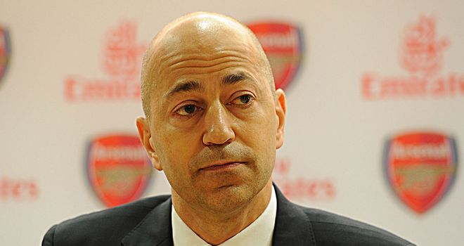 Ivan Gazidis: First revealed planned fixture in November