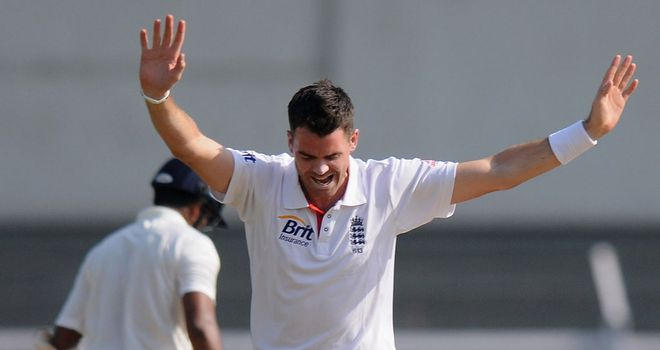 Jimmy Anderson was in top form to help England seal the series in Nagpur