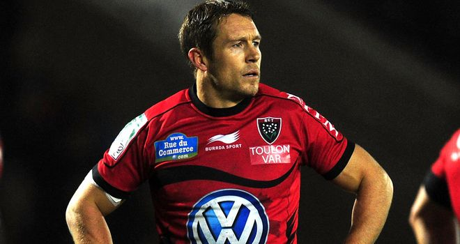 Jonny Wilkinson: has been at Toulon since 2009