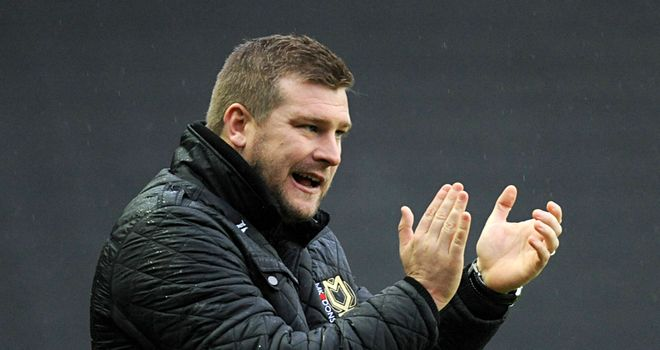 Karl Robinson: Delighted to have trio back from injury