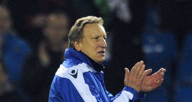 Neil Warnock is now looking forward to Saturday's trip to Blackburn.