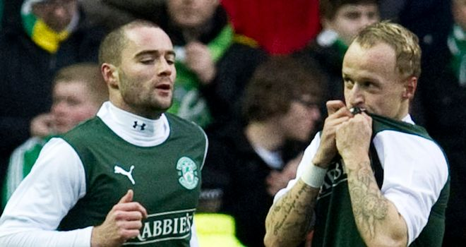 Leigh Griffiths (right)