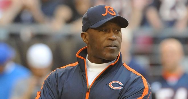 Lovie Smith: led the Chicago Bears to a Super Bowl appearance during his time in charge